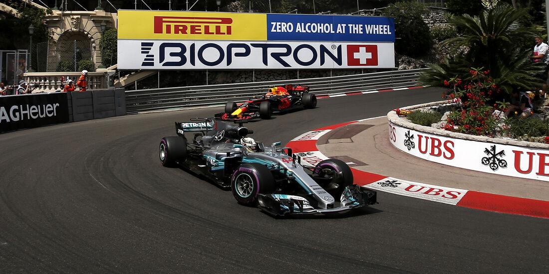 Lewis Hamilton - Mercedes - Formel 1 - GP Monaco - 25. Mai 2017