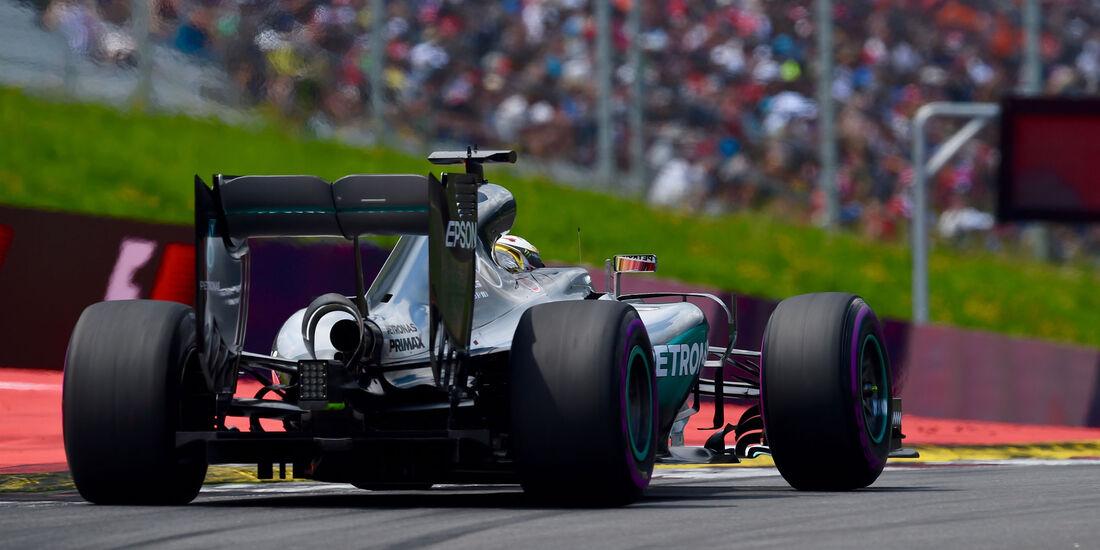 Lewis Hamilton - Mercedes - Formel 1 - GP Österreich - 2. Juli 2016