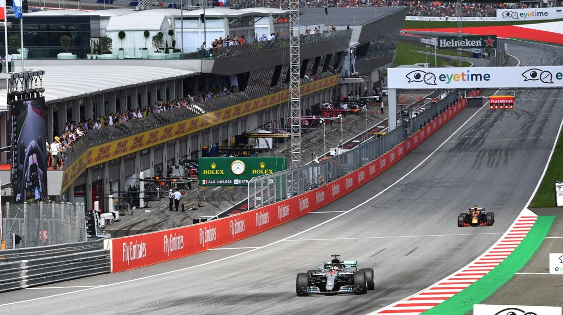 Lewis Hamilton - Mercedes - Formel 1 - GP Österreich - 30. Juni 2018