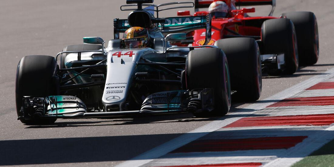 Lewis Hamilton - Mercedes - Formel 1 - GP Russland - Sotschi - 29. April 2017