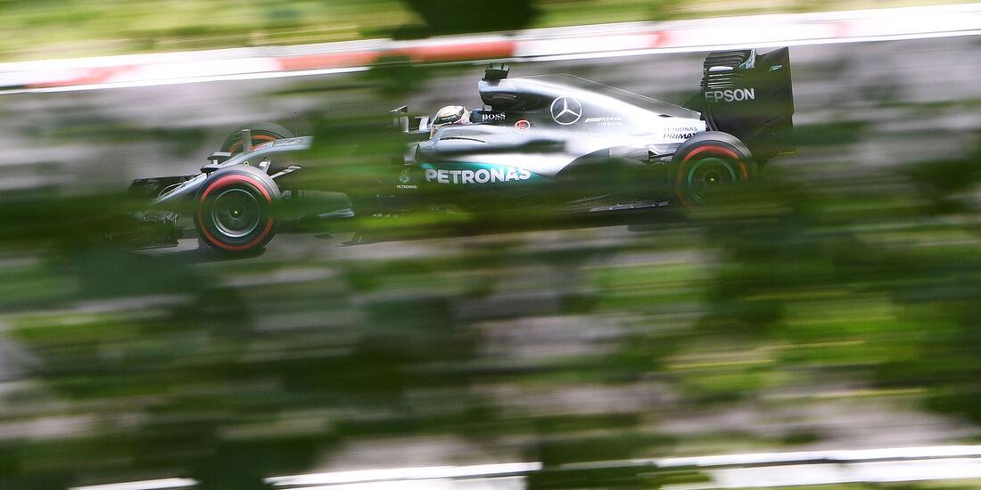 Lewis Hamilton - Mercedes - Formel 1 - GP Ungarn - 23. Juli 2016