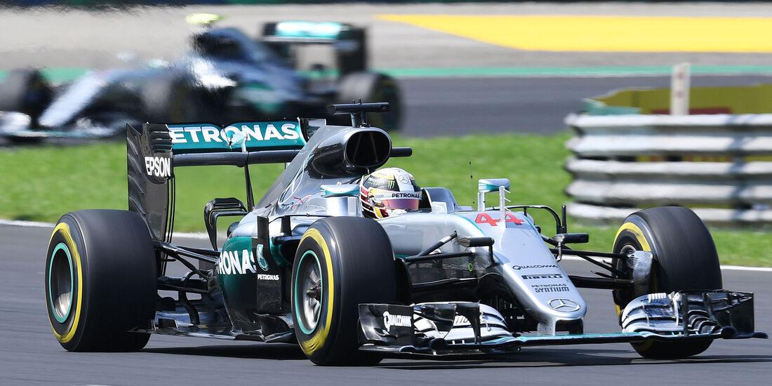 Lewis Hamilton - Mercedes - Formel 1 - GP Ungarn - 24. Juli 2016