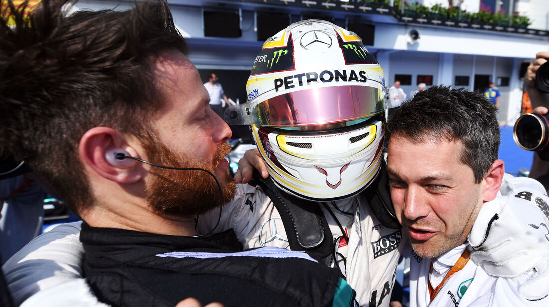 Lewis Hamilton - Mercedes - Formel 1 - GP Ungarn - 24. Juli 2018