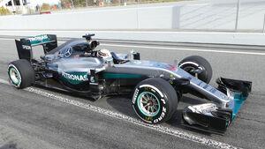Lewis Hamilton - Mercedes - Formel 1-Test - Barcelona - 3. März 2016
