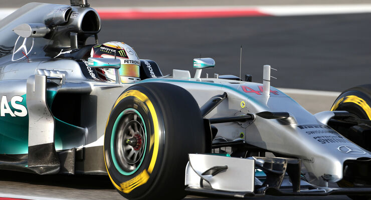 Lewis Hamilton - Mercedes - Formel 1 - Test - GP Bahrain - 9. April 2014