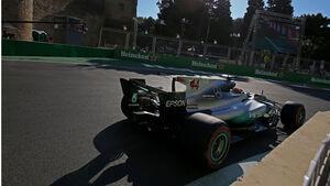 Lewis Hamilton - Mercedes - GP Aserbaidschan 2017 - Baku - Qualifying