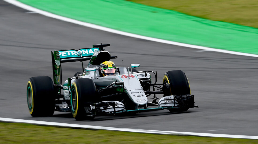 Lewis Hamilton - Mercedes - GP Brasilien 2016 - Interlagos - Qualifying