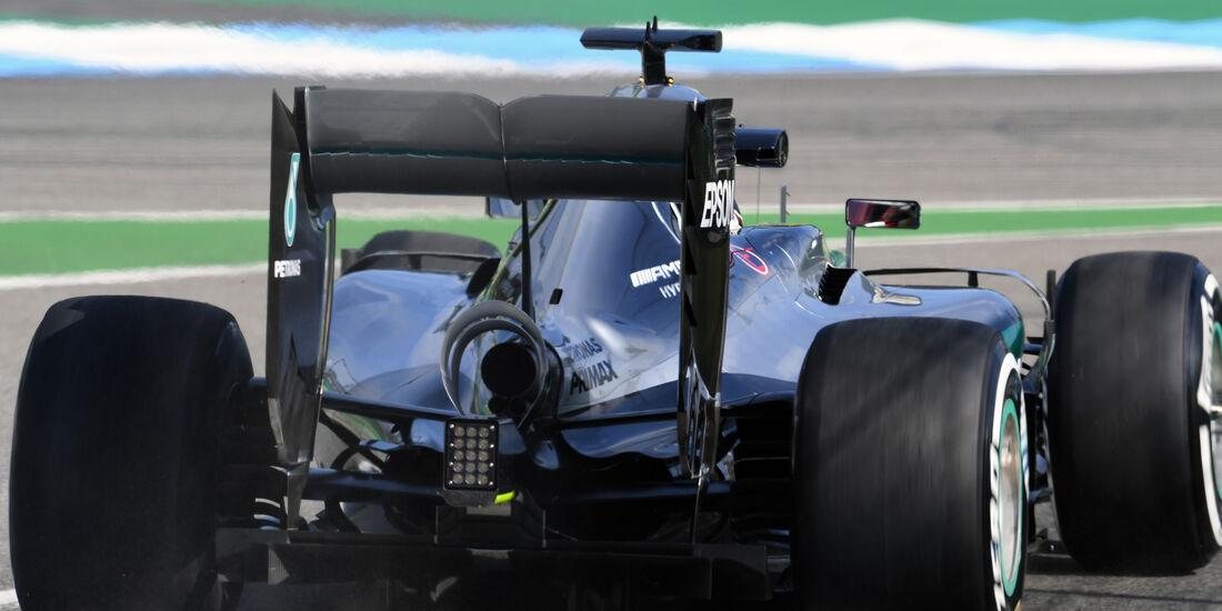 Lewis Hamilton - Mercedes - GP Deutschland - Formel 1 - 29. Juli 2016