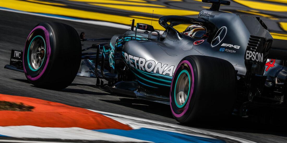 Lewis Hamilton - Mercedes - GP Deutschland - Hockenheim - Formel 1 - Freitag - 20.7.2018