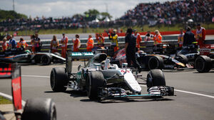 Lewis Hamilton - Mercedes - GP England 2016 - Silverstone - Rennen