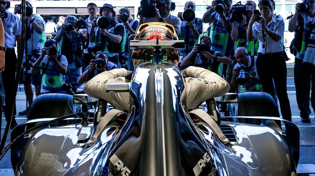 Lewis Hamilton - Mercedes - GP England 2018