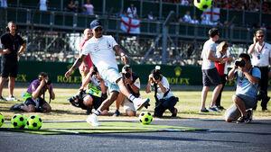 Lewis Hamilton - Mercedes - GP England - Silverstone - Formel 1 - Donnerstag - 5.7.2018