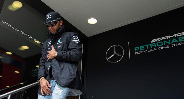 Lewis Hamilton - Mercedes - GP England - Silverstone - Formel 1 - Donnerstag - 7.7.2016