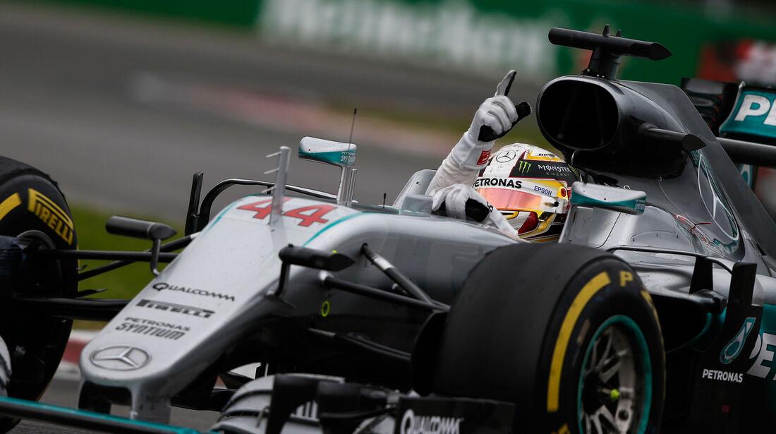 Lewis Hamilton - Mercedes  - GP Kanada 2016 - Montreal
