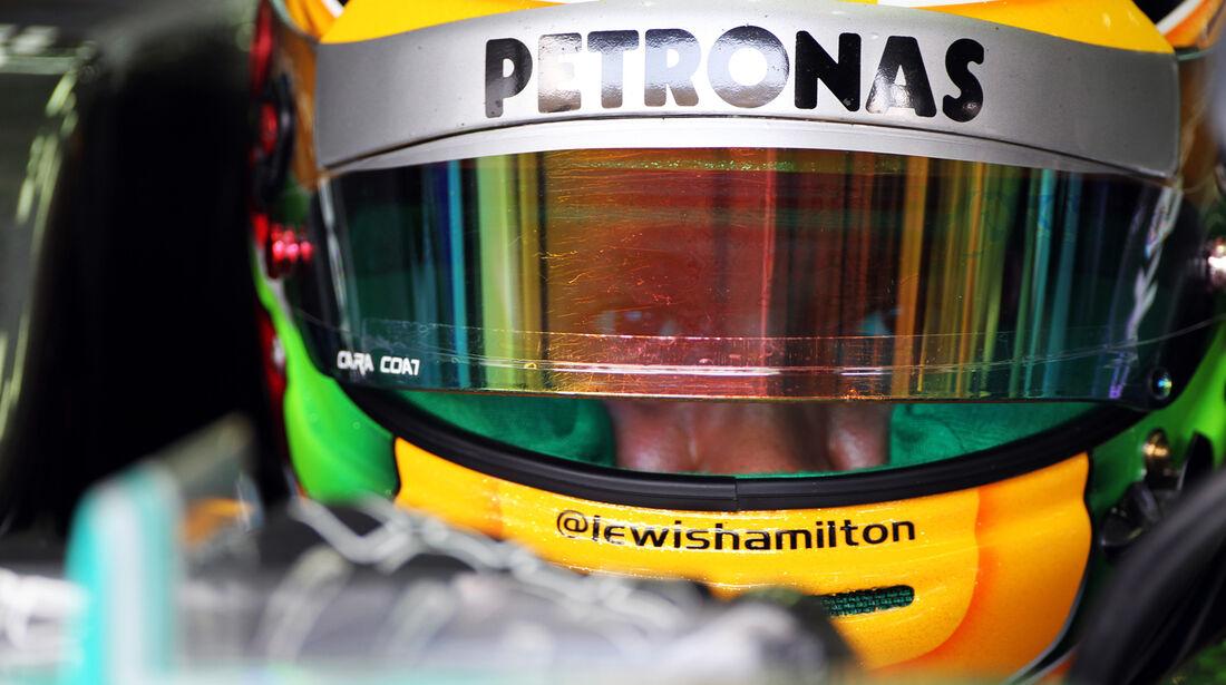 Lewis Hamilton - Mercedes - GP Malaysia - 23. März 2013