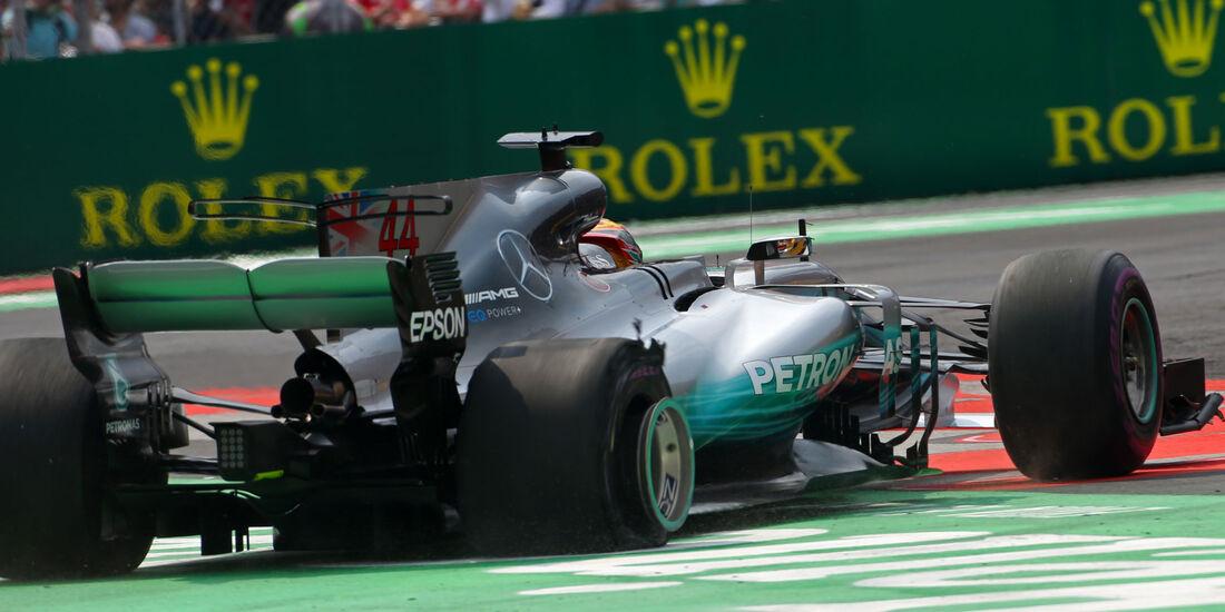 Lewis Hamilton - Mercedes - GP Mexiko 2017 - Rennen