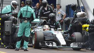 Lewis Hamilton - Mercedes - GP Monaco 2015
