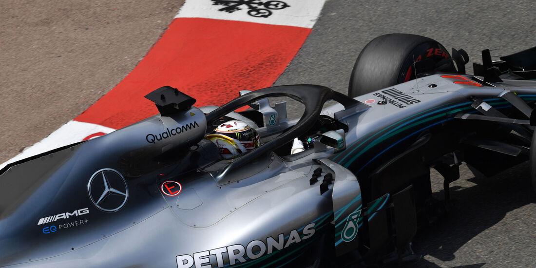 Lewis Hamilton - Mercedes - GP Monaco - Formel 1 - Donnerstag - 24.5.2018