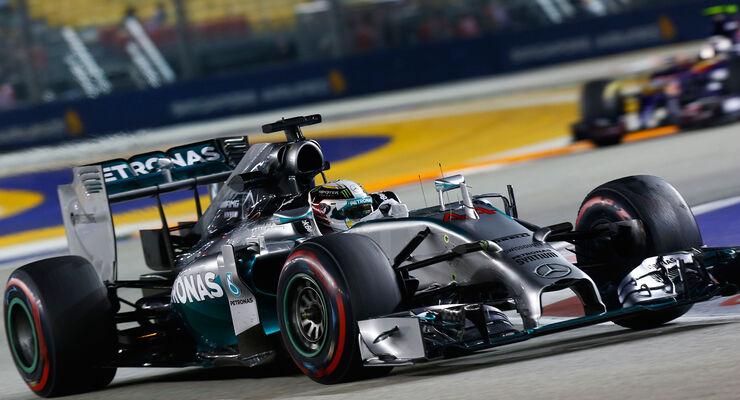 Lewis Hamilton - Mercedes - GP Singapur 2014