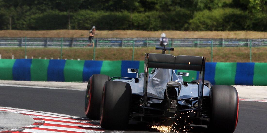 Lewis Hamilton - Mercedes - GP Ungarn - Budapest - Formel 1 - 22. Juli 2016
