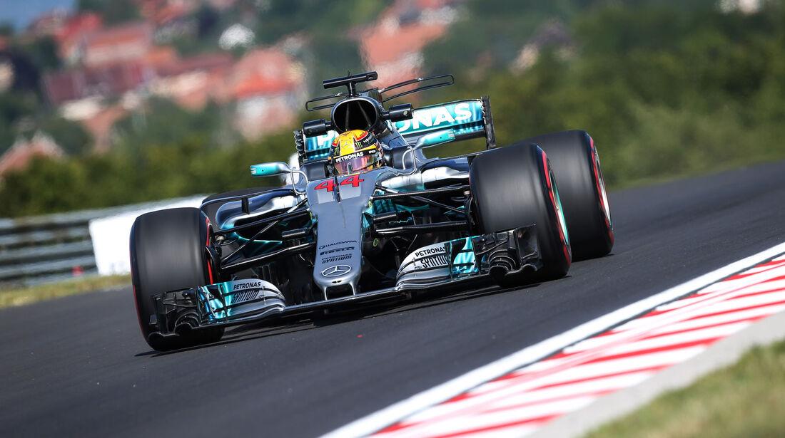 Lewis Hamilton - Mercedes - GP Ungarn - Budapest - Formel 1 - 28.7.2017