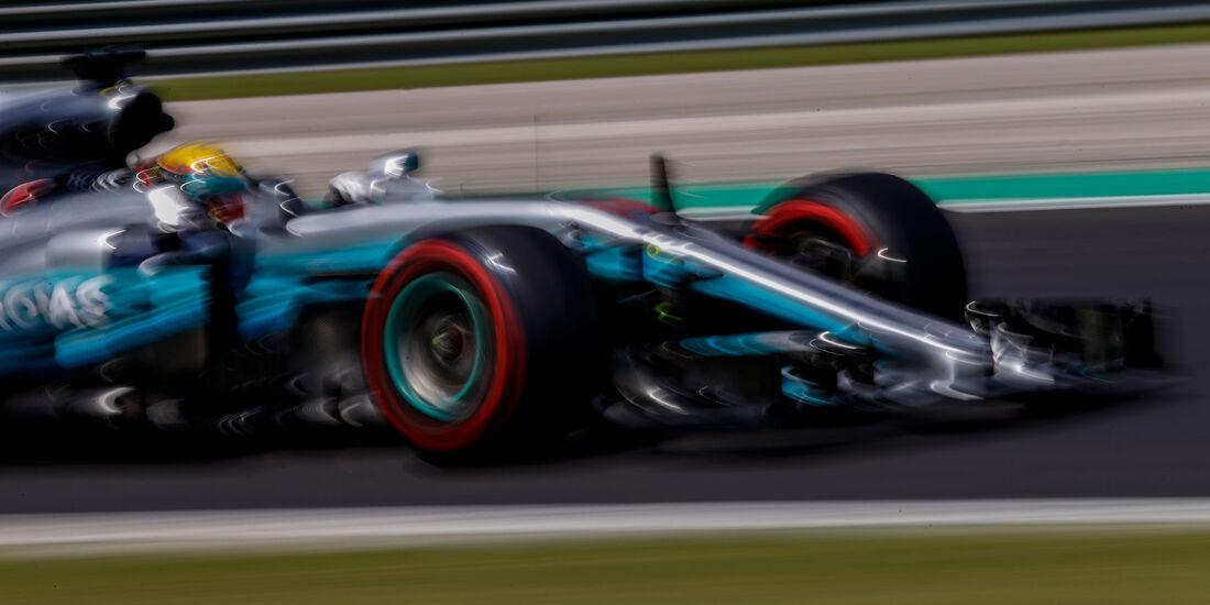 Lewis Hamilton - Mercedes - GP Ungarn - Budapest - Formel 1 - Freitag - 28.7.2017