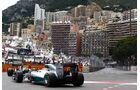 Lewis Hamilton - Nico Rosberg - Mercedes  - Formel 1 - GP Monaco - 25. Mai 2014