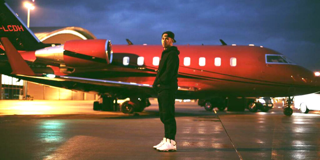 Lewis Hamilton - Privatjet