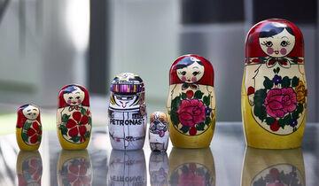 Lewis Hamilton - Russische Puppe - GP Russland 2017