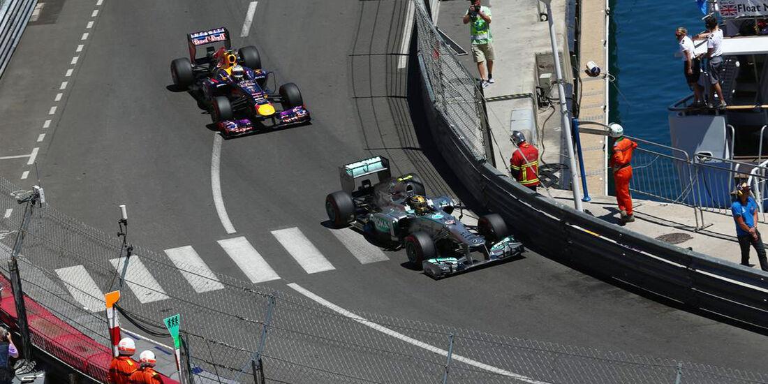 Lewis Hamilton - Sebastian Vettel - Formel 1 - GP Monaco - 26. Mai 2013
