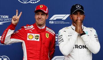 Lewis Hamilton & Sebastian Vettel - GP Belgien 2018