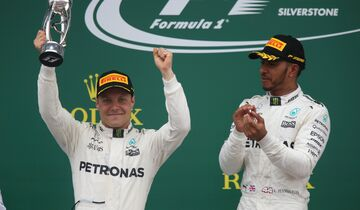 Lewis Hamilton - Valtteri Bottas - Mercedes - Formel 1 - GP England - 16. Juli 2017