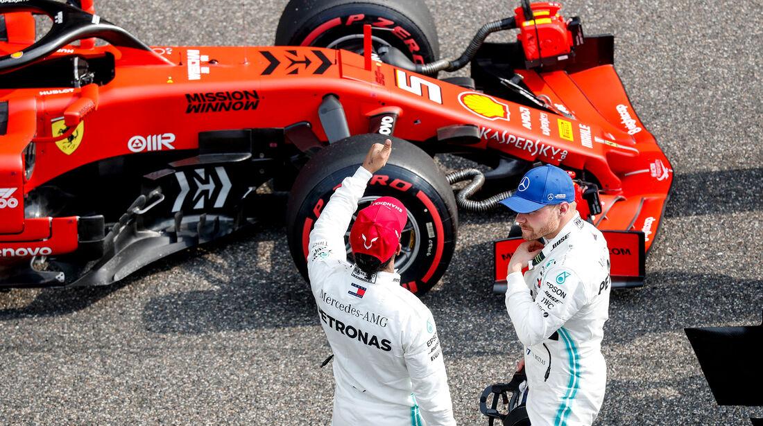 Lewis Hamilton - Valtteri Bottas - Mercedes - GP China - Shanghai - Samstag - 13.4.2019