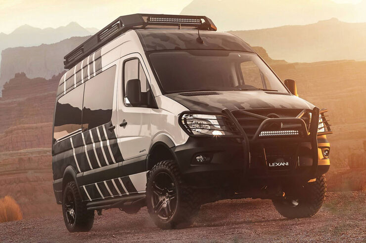 lexani lm extv offroad sprinter mercedes gel ndekasten. Black Bedroom Furniture Sets. Home Design Ideas