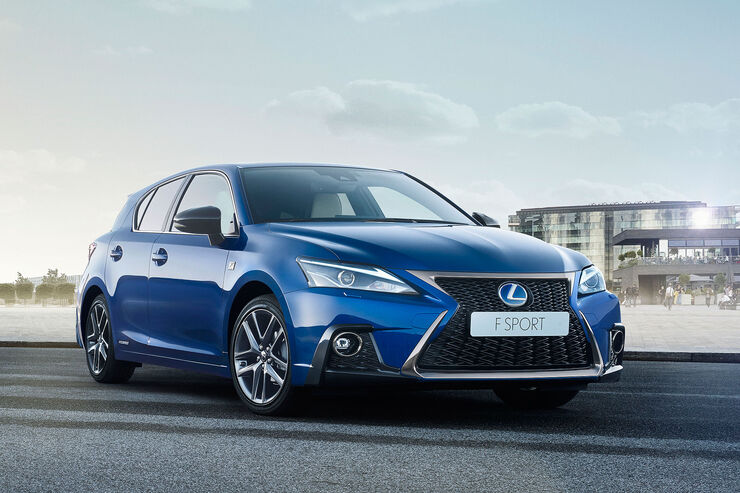 Lexus CT 200h Facelift 2017