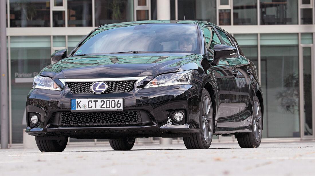Lexus CT 200h Hybrid Drive, Frontansicht
