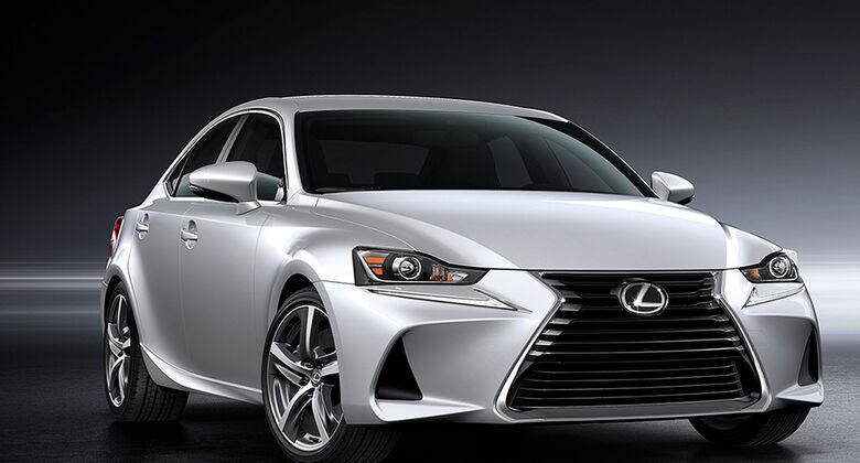 Lexus IS Facelift 2016