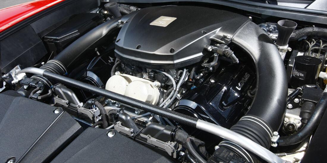 Lexus LFA, Motor,
