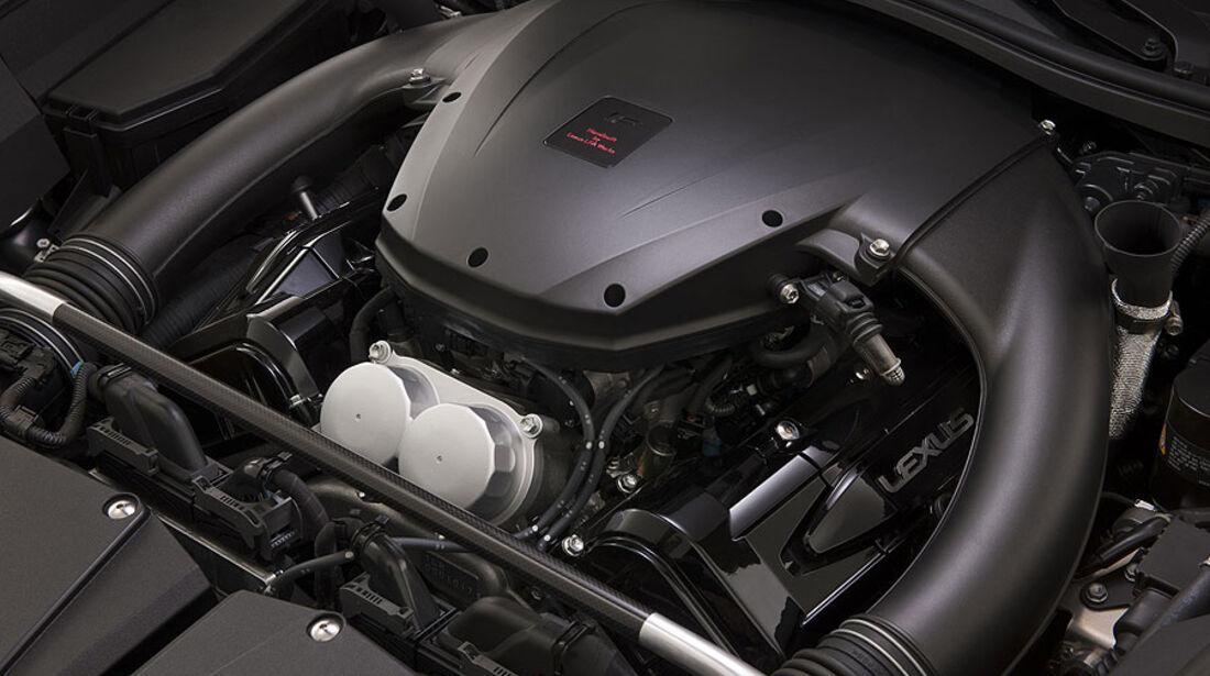 Lexus LFA Nürburgring-Performance-Paket, Motor