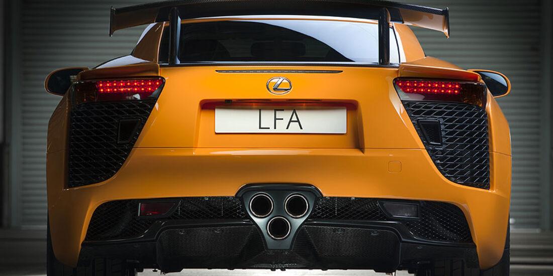 Lexus LFA Nürburgring-Performance-Paket