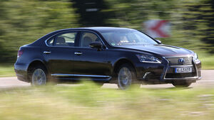 Lexus LS 600h L, Seitenansicht