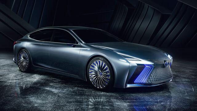 Lexus LS Concept Autonomes Fahren Ab 2020