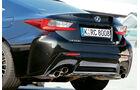 Lexus RC F, Auspuff, Endrohre
