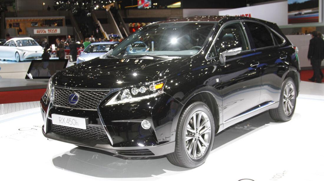 Lexus RX 450h Auto-Salon Genf 2012