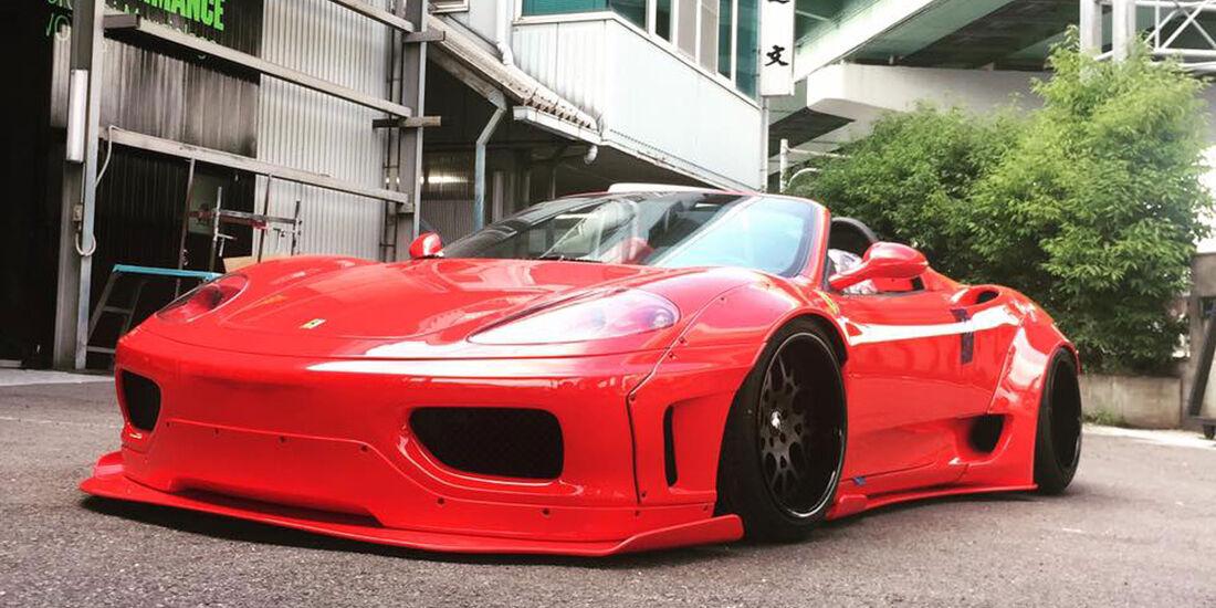 Liberty Walk - Ferrari 360 Modena - Tuning