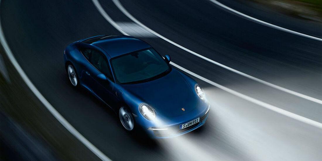 Licht, Porsche 911 Carrera 991