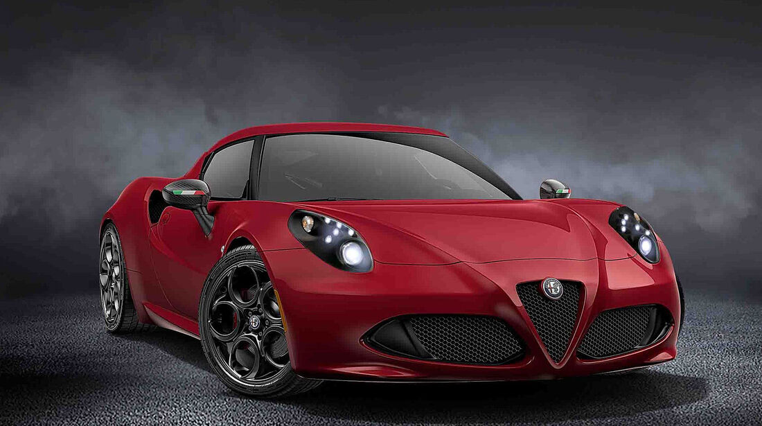 Limited Edition Alfa Romeo 4C Coupé Rosso Forte