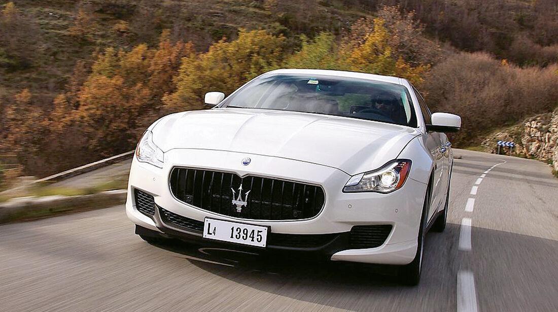 Limousine, Maserati Quattroporte GTS