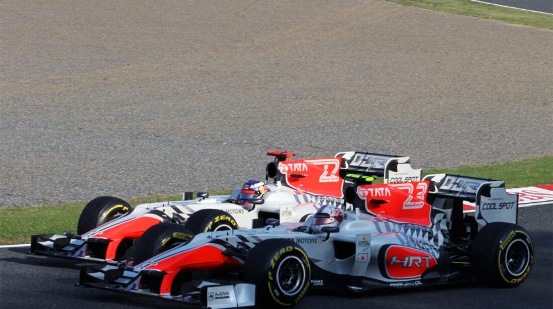 Liuzzi Ricciardo Hispania HRT GP Japan 2011