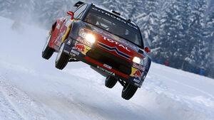 Loeb, Rallye Norwegen, 2009, Sprung, Schnee